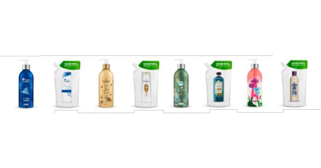 Marcas da P&G anunciam o lançamento das suas primeiras embalagens de alumínio reutilizáveis em grande escala na Europa