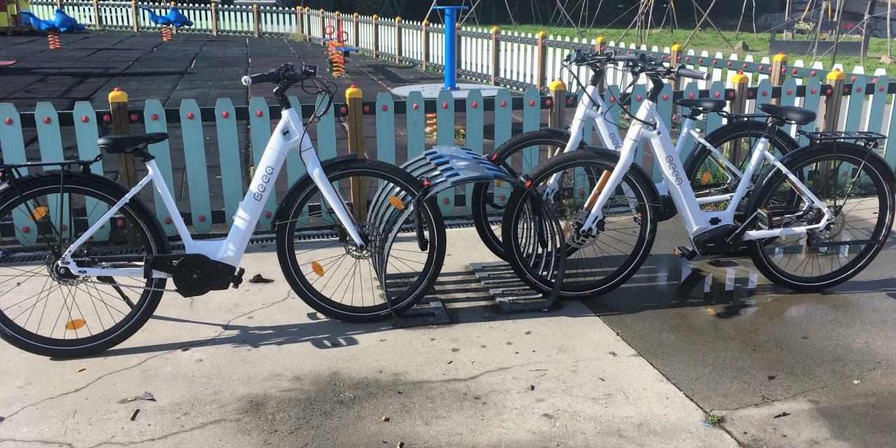 """Colaboradores da Gaiurb recebem bicicletas eléctricas em piloto pelo """"transporte urbano sustentável"""""""