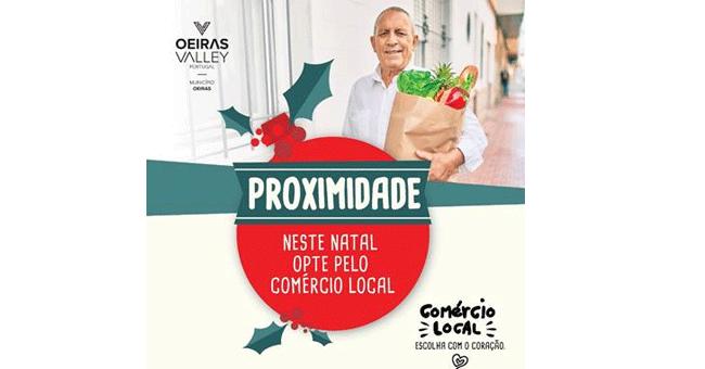 OEIRAS APOIA E PROMOVE O COMÉRCIO LOCAL COM NOVA CAMPANHA