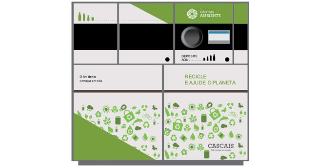 Cascais: Máquinas vão dar prémios em troca de embalagens de bebidas para reciclar