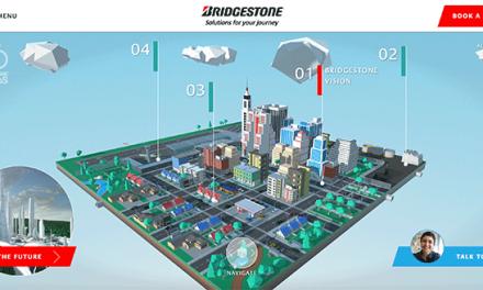 Bridgestone lança a cidade virtual do futuro numa demonstração de soluções de mobilidade no CES 2021