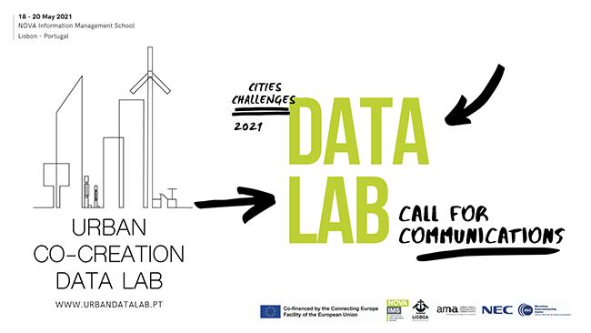 Urban Co-Creation Data Lab: Projecto organiza workshop em Maio e procura trabalhos com base em analítica urbana