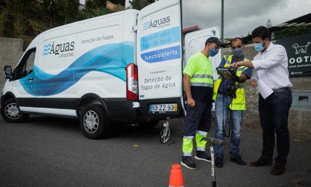 Veículo inovador da CMF já detetou 220 fugas de água no subsolo