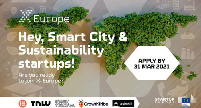 X-Europe está à procura de start-ups nas áreas smart cities e sustentabilidade