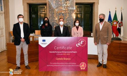 """Comité das Regiões Europeu elege Castelo Branco como um dos """"faróis de uma recuperação europeia sustentável"""""""