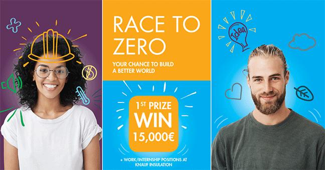 """Concurso universitário para Arquitetos e Engenheiros """"Race to Zero"""""""