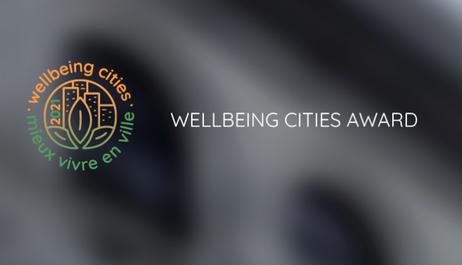 Wellbeing Cities Award: 3ª edição com candidaturas até 10 de Abril