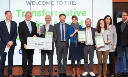 Transformative Action Award 2021 com inscrições até 31 de Julho