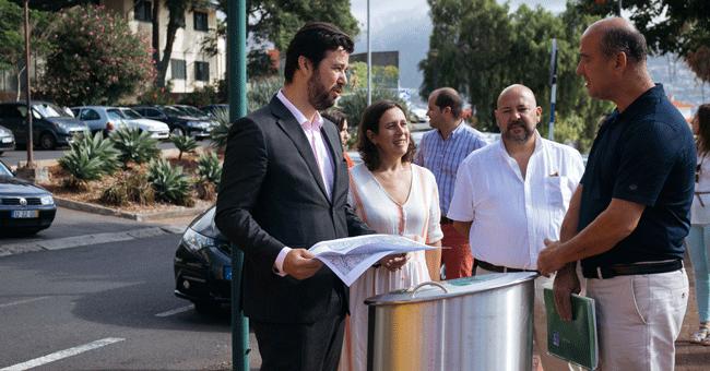Funchal investe 120 mil euros em papeleiras inteligentes