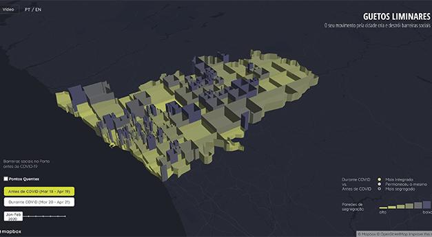 """""""Guetos Liminares"""": combater a segregação social no Porto através de big data"""