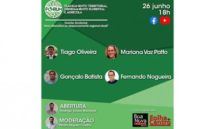 Discussão sobre a gestão territorial em Oliveira do Hospital é promovida pelo FOHRUM