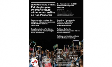 Seminário vai debater criação artística e políticas territoriais para o Interior