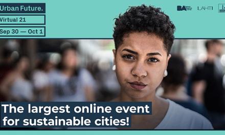 """O """"maior evento para cidades sustentáveis"""" está de volta: em 2021, o Urban Future Conference é virtual"""