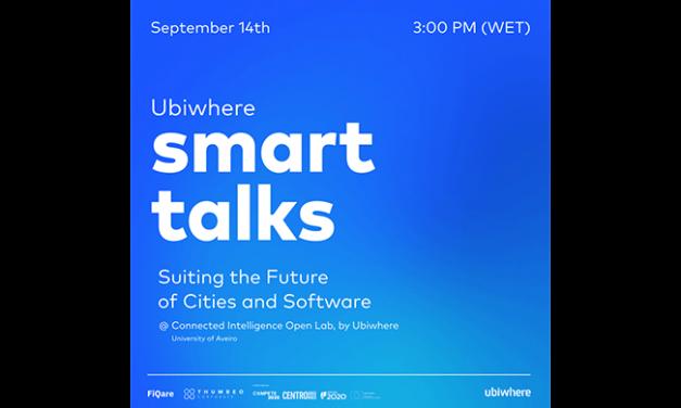 Ubiwhere organiza evento único sobre Cidades Inteligentes